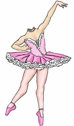 Dance studio marketing ideas - Life size ballerina cutout