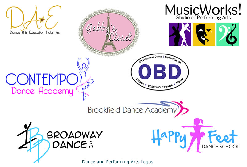 Dance & Performing Arts Logos