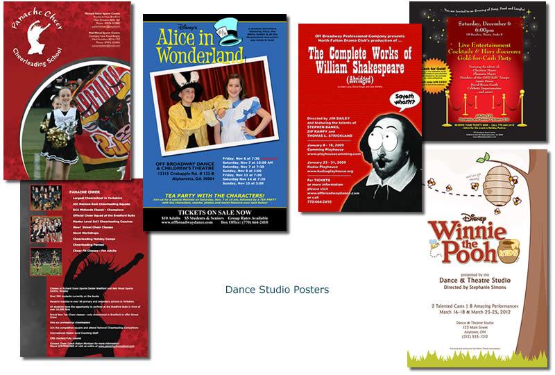 Dance Studio Posters