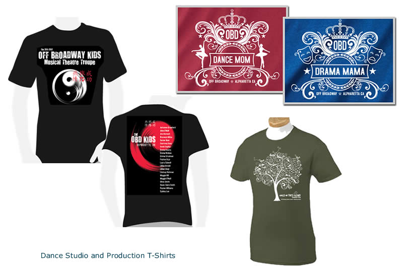 Dance Studio & Production T-shirts