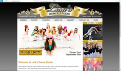 Dance Studio Website - Lisa's Dance Studio in Quincy, MA