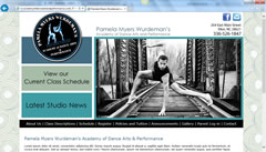 Dance Web Design - Pamela Myers Wurdemans Academy of Dance Arts & Performance in Elkin, NC