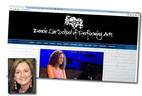 Dencie Lee School of Performing Arts - Dance school website