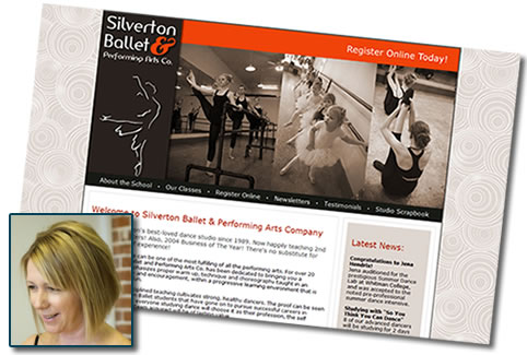 Silverton Ballet & Performing Arts Co in Silverton, OR - Dance school website